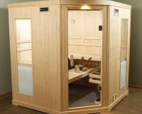 Finnleo Luxury Passport PS66C Corner Sauna