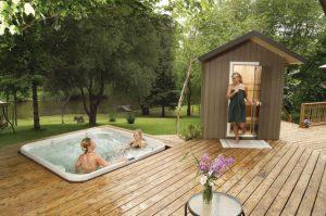 Finnleo Portable Patio Outdoor Sauna - Exterior