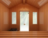 Finnleo Portable Patio Outdoor Sauna - Interior