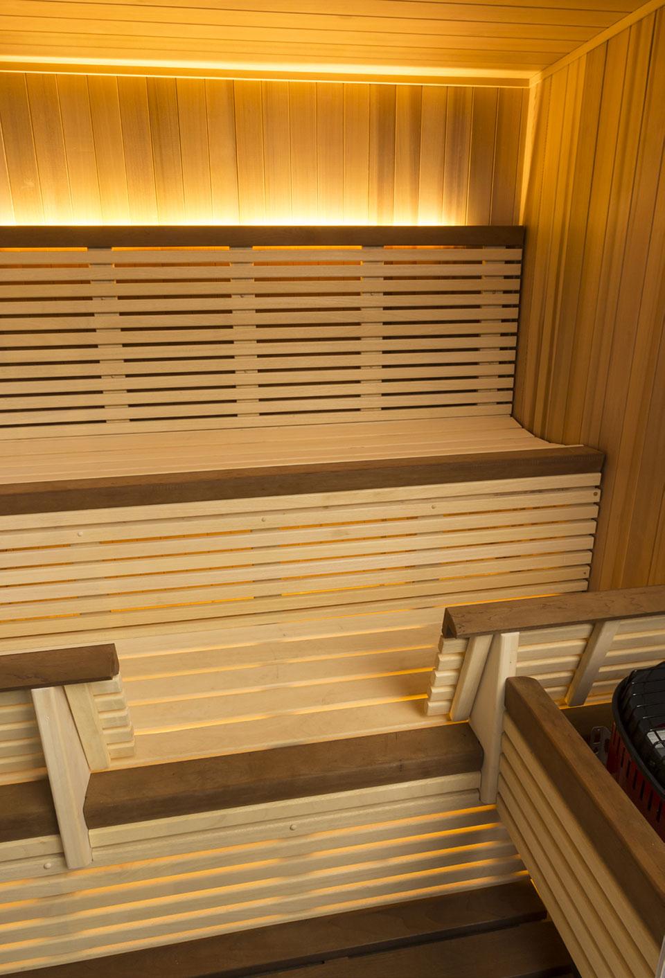 Helo serenity infrared sauna diamond sauna steam for Sauna home
