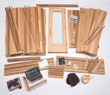 finlandia fpc 44 4 39 x 4 39 x 7 39 precut sauna diamond sauna steam. Black Bedroom Furniture Sets. Home Design Ideas