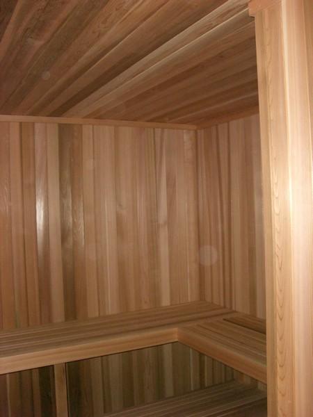 After sauna installation - Addison Athletic, Addison, Texas