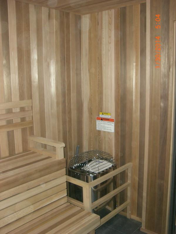 After - Beck-Bryan sauna installation