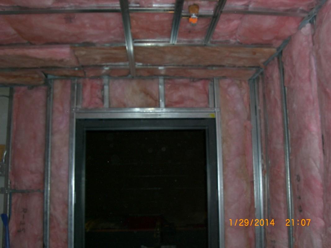 Before - Beck-Bryan sauna installation