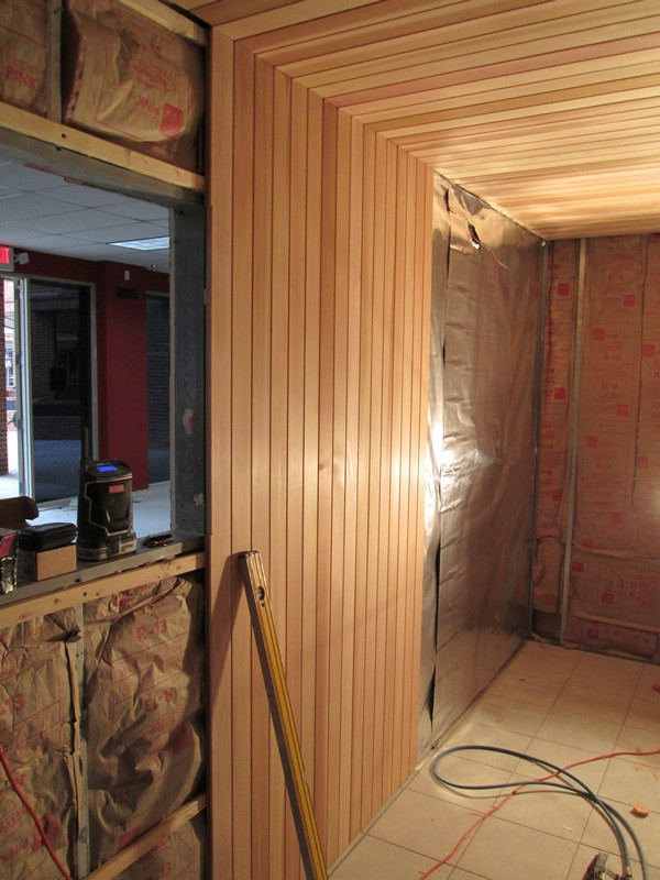 Before - Fitness Nation Sauna Installation
