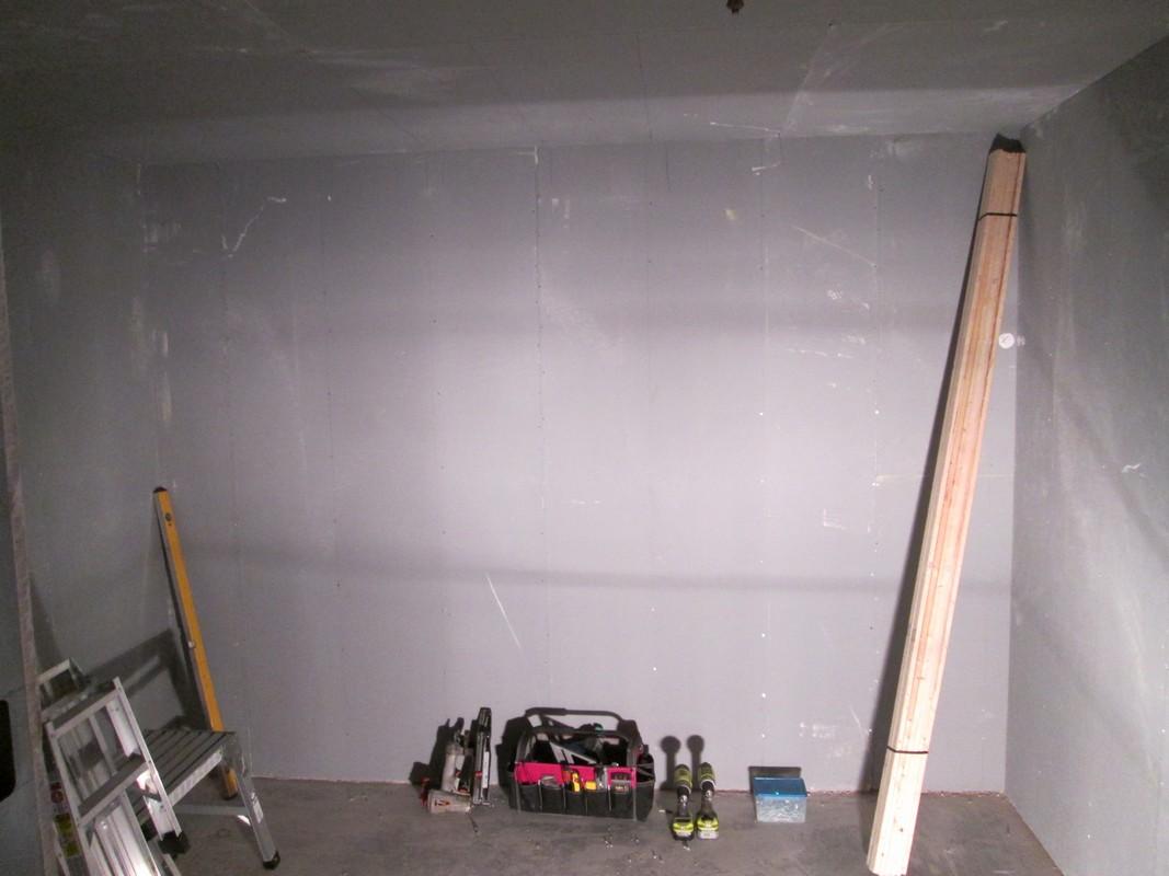 Before - LA Fitness, Round Rock sauna installation