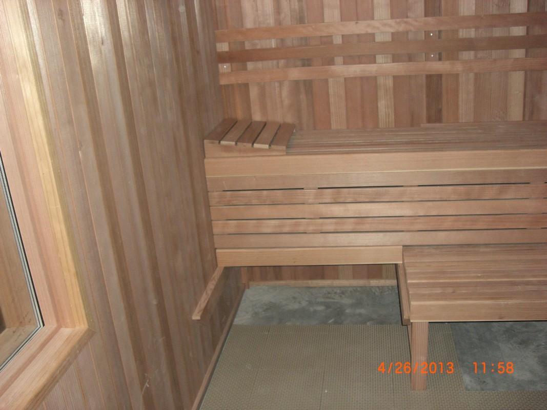 After - Richardson Recreation sauna installation