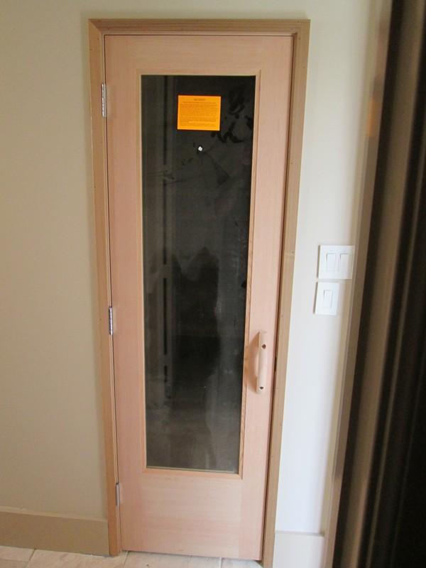 After - Vossman sauna installation
