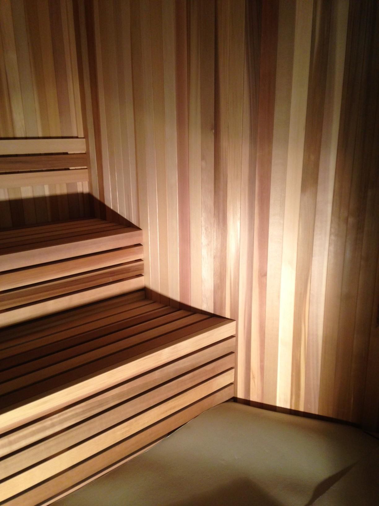 Lifetime Fitness - Sauna Installation