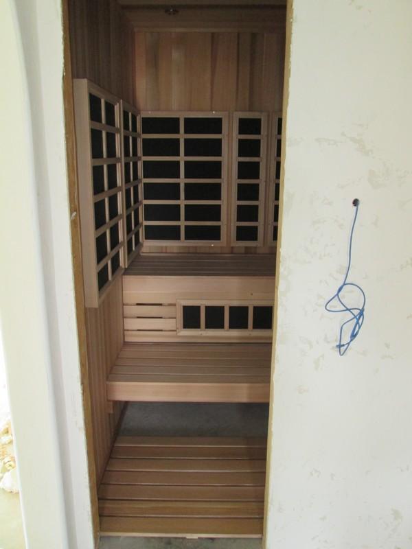 Rasnick Home - After Sauna Installation