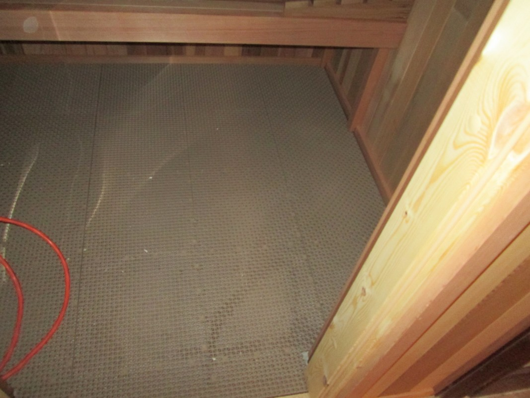 Sorenson sauna installation in Texas