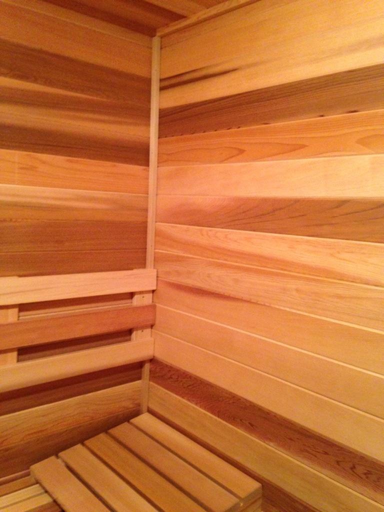 wilson installation diamond sauna steam. Black Bedroom Furniture Sets. Home Design Ideas